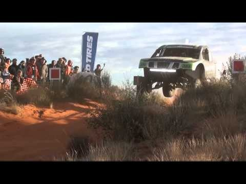 2012 Finke Desert Race - 40km dune - Crash