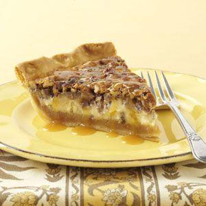 Caramel-Pecan Cheesecake Pie Recipe