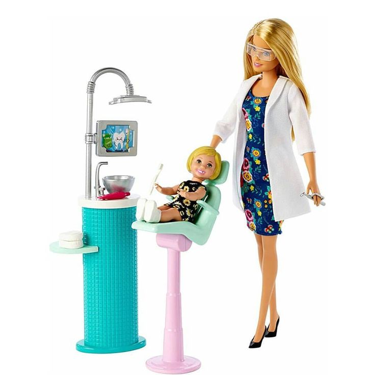 NEW Barbie Dentist (Blonde Hair) barbie barbiestyle