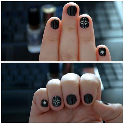 Nail art #1: Gothic Nails | Diana.Elena.Stoica