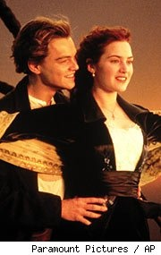 Leonardo Dicaprio and Kate Winslet   Titanic!