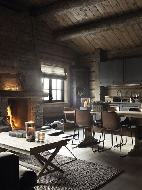 Norwegian cabin living - nice and cozy for a retreat