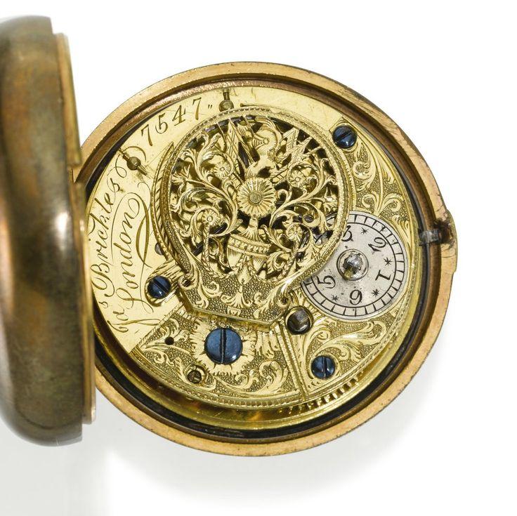 Антикварные карманные часы