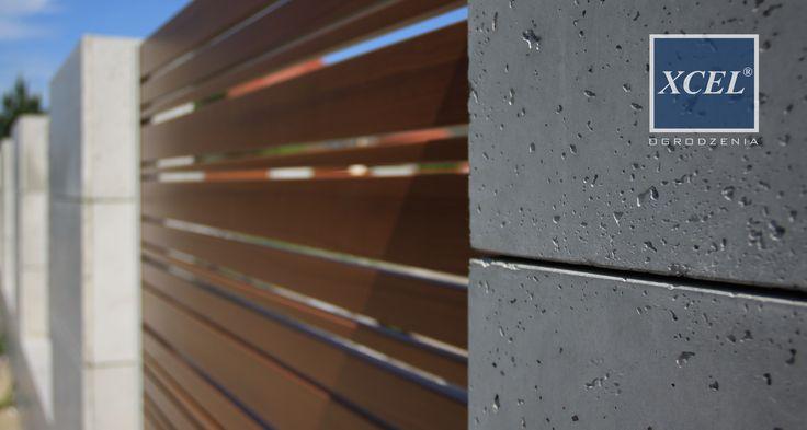 płyty z betonu architektonicznego cubero ogrodzenia nowoczesne