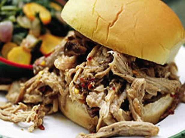 North Carolina-Style BBQ Pulled-Pork Sandwiches
