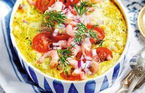 Så här års längtar vi alla efter värmande gratänger! Låt dig frestas av Kristina Erikssons festliga rödspättagratäng som smaksätts med curry, senap och dill. Avsluta med att bre på en...