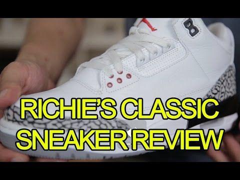 RICHIE'S CLASSIC SNEAKER REVIEW - AIR JORDAN 3 RETRO Feat. Fung Bros - http: