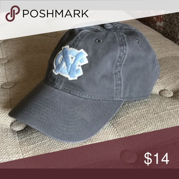 UNC women's baseball hat. Charcoal gray with official NC logo bought in campus bookstore. Worn once! Accessories Hats