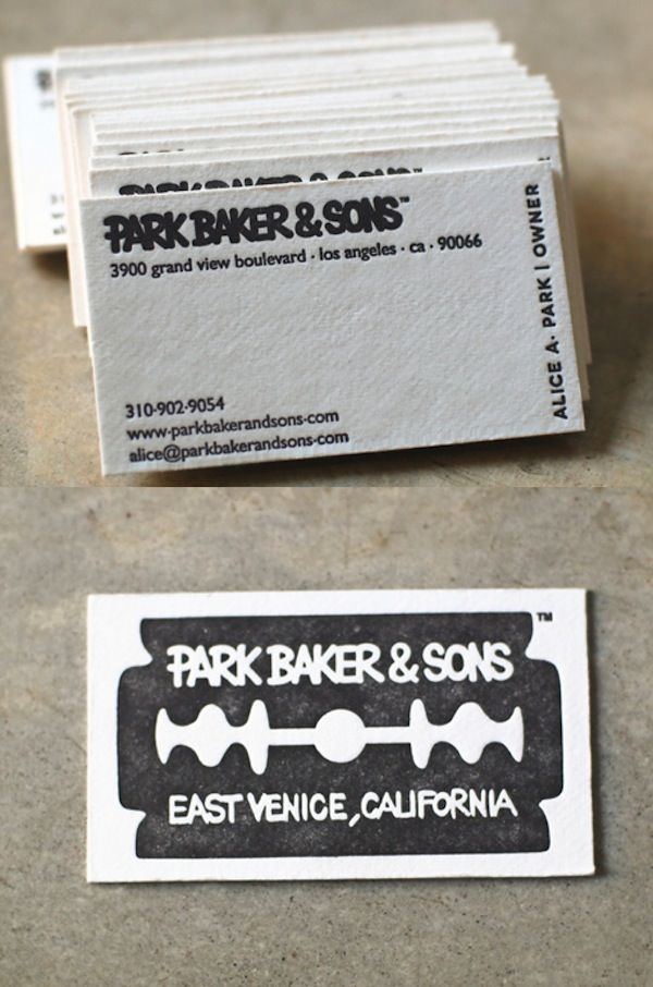 223 Best Letterpress Business Card Images On Pinterest