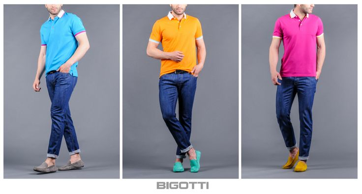 Choose your color for today!  www.bigotti.ro
