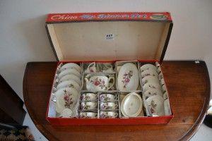 Basement 7 - Provenance Auction House: A China Toy Dinner Set.