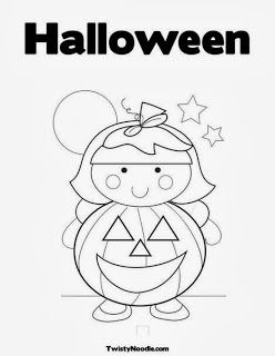 halloween therapy coloring pages - photo#20