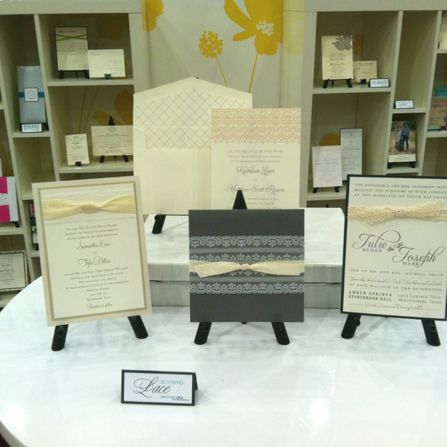 lace wedding invitations - invitation solutions