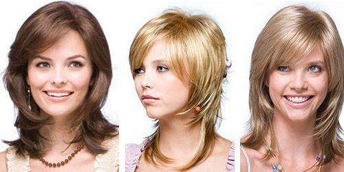Прическа каскад. Каскадная стрижка для длинных, средних волос, фото.