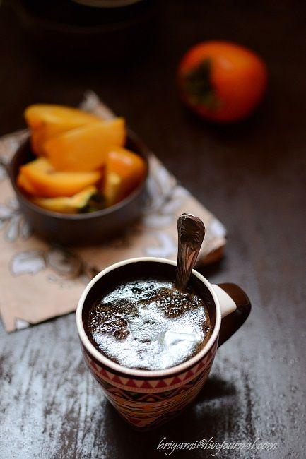 Кофе и хурма