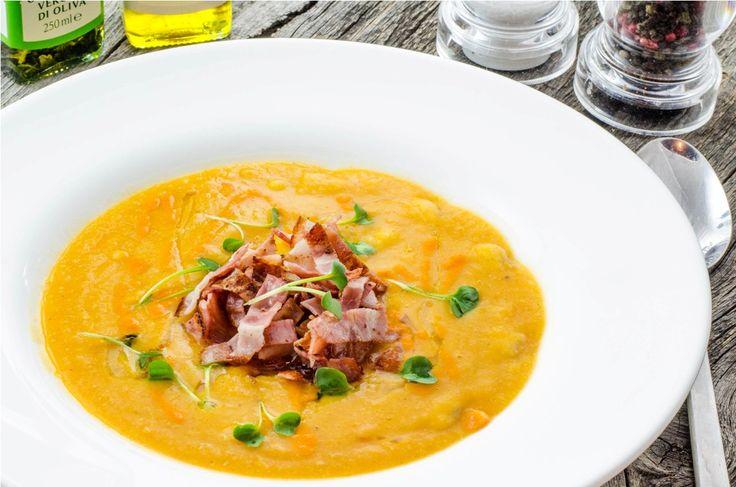 Supa cremoasa de fasole