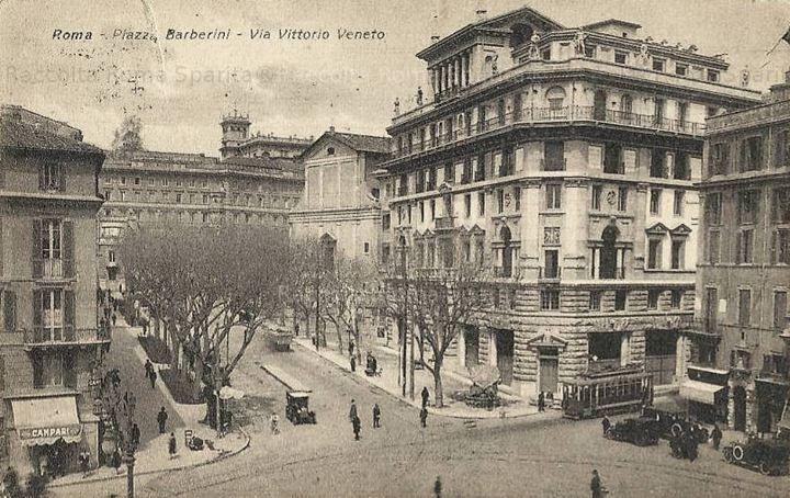 Roma Sparita - Piazza Barberini e Via Veneto