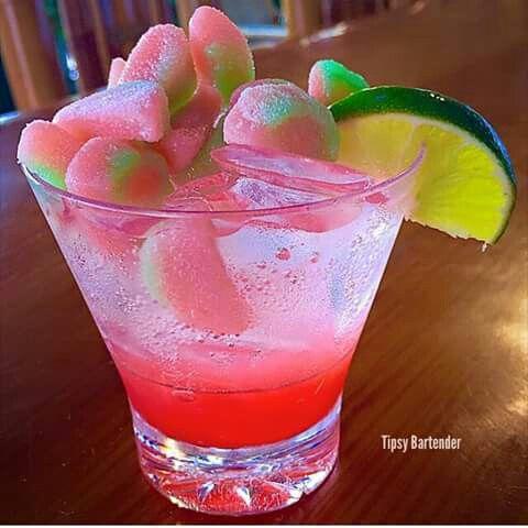 Pink starburst shot
