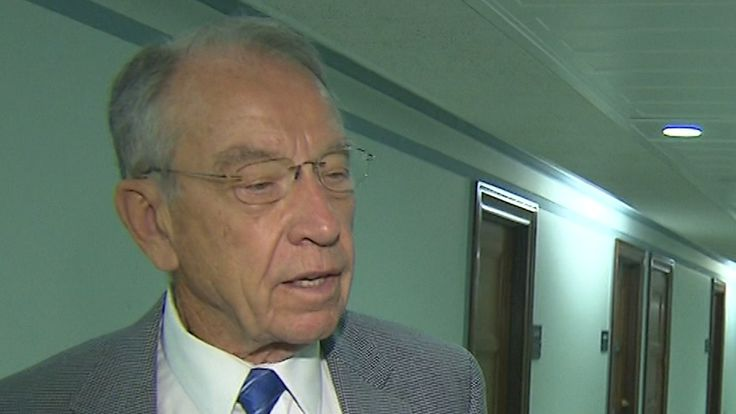 Senate judiciary committee Chairman Chuck Grassley threatened Thursday to subpoena both Donald Trump Jr. and Trump's former campaign chairman Paul Manafort if they do not appear before his committee for a scheduled appearance next week.