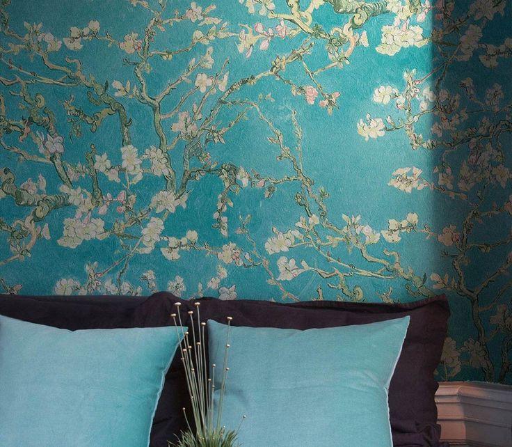 149 besten Beautiful wallpaper - Tapeten Bilder auf Pinterest - wohnzimmer tapete blau