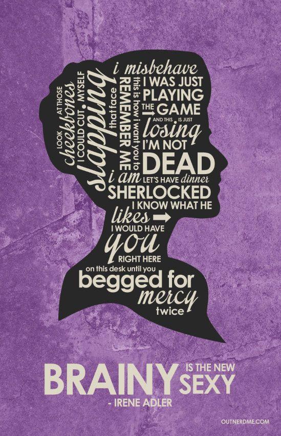 Sherlock BBC: Irene Adler by OutNerdMe                                                                                                                                                                                 More
