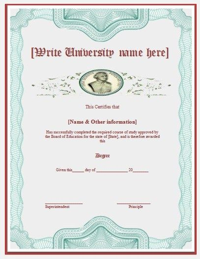 Best 25+ Degree certificate ideas on Pinterest College diploma - certificate templates in word