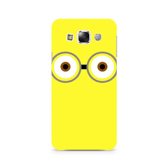 Shopo.in : Buy Samsung Galaxy E7 Cover_minion Big Eyes online at best price in Mumbai, India