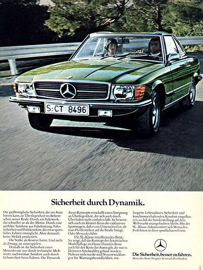 Mercedes SL http://www.autorevue.at/motorblog/mercedes-roadster-190-sl-230-sl-baureihe-107-oldtimer.html