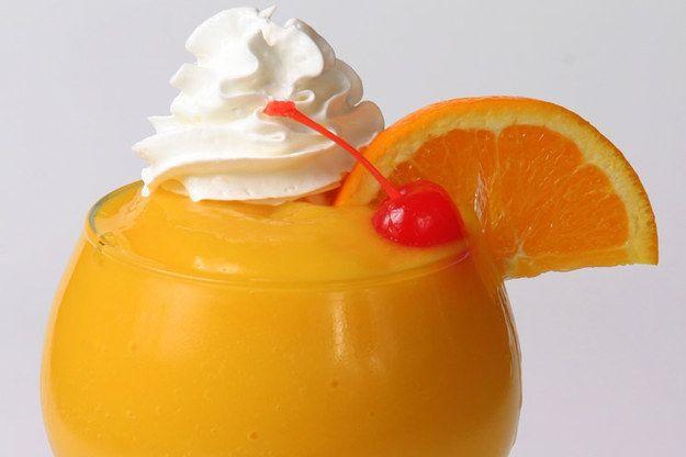 Creamsicle Margarita | 29 Frozen Drinks To Put On Your Summer Bucket List