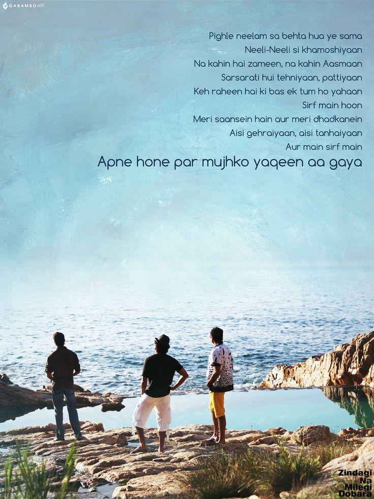 Zindagi Na Milegi Dobara  | love this movie!