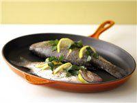 Lemon Rosemary Marinated Grilled Halibut | Recipe