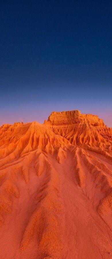 The otherworldly landscape of Mungo National Park, NSW Australia