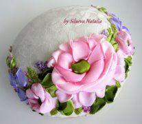 Pin cushion. Handmade by Natalia Silaeva (Ukraine) Игольницы от Натальи Силаевой (Украина)