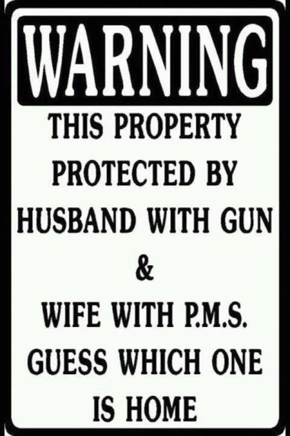 Protected by husband and wife