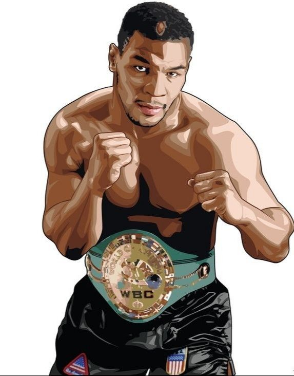 Iron Mike Tyson In 2020 Sports Illustrations Art Mike Tyson Boxing Posters