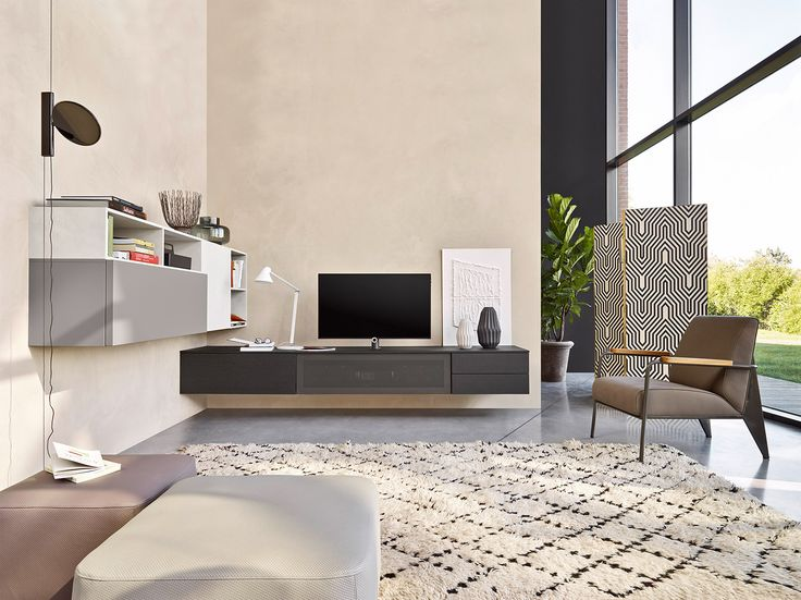 114 best u003eu003e TV Wohnwände u003cu003c images on Pinterest Tv walls - designer mobel einrichtungsstil
