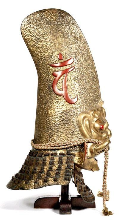 Demon Kawari Kabuto Samurai helmet. Mid Edo Period, 18th century, Japan