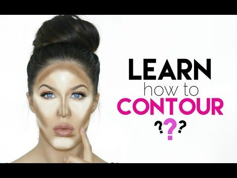 How To Contour & Highlight For Beginners   Make Your Face/Nose Slimmer! - YouTube