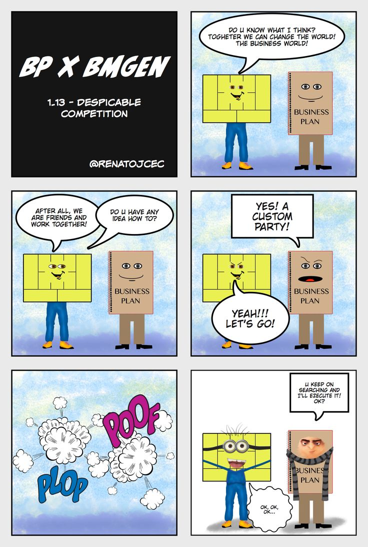 BP vs #bmgen 1.13 - Despicable Competition - now @ #BMGen Comics http://materiais.bmgenbrasil.com/bmgen-comics-en #custdev #leanstartup