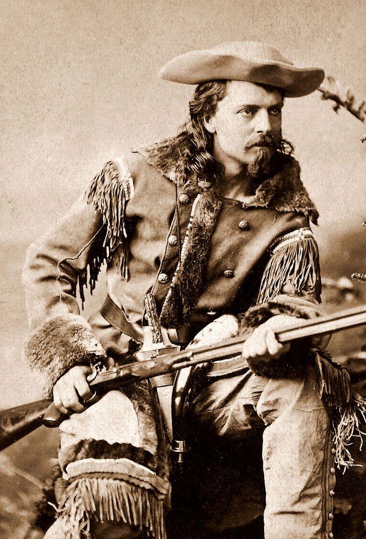 1880 US Soldier Showman Buffalo Bill WILLIAM CODY Vintage 8X10 Photo Portrait