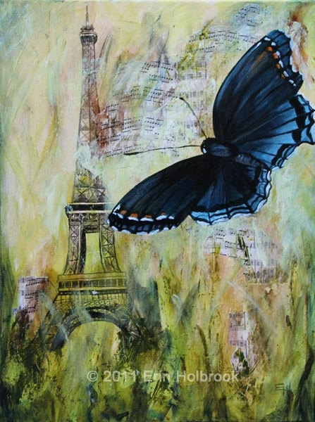 Butterfly and Eiffel Tower PaintingEiffel Towers, Audrey Hepburn, Theme, Art Inspo, Kinda Modern, Painting, French Inspiration, Canvas Creations, Art Projects