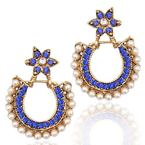 Bollywood Inspired White Pearls Blue Stone Gold Plated Tr... https://www.amazon.com/dp/B06XPGSCDH/ref=cm_sw_r_pi_dp_x_kYebzbXHMM9XF