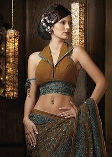 #sari #blouse