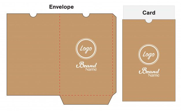 Hotel Key Card Holder Folder Package Template Hotel Key Cards Mini Envelopes Template Cards