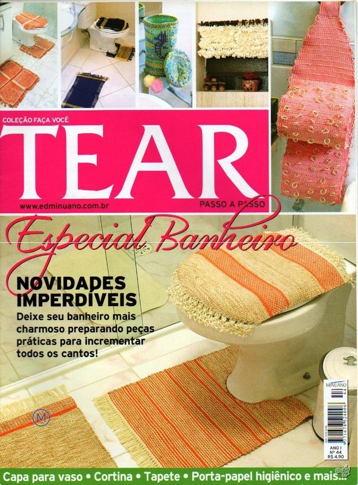 Revistas de Manualidades Para Descargar: Telar Paso a Paso N°44