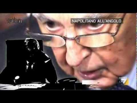 La Gabbia - Napolitano all'angolo (12/02/2014)