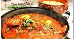 Mexico in my Kitchen: Veracruz Style Red Snapper / Huachinango a la Veracruzana|Authentic Mexican Food Recipes Traditional Blog