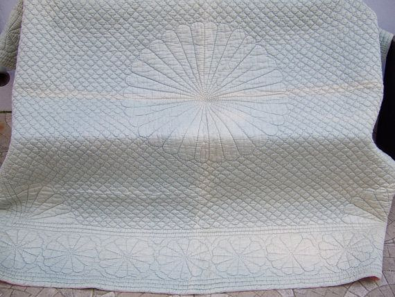 Antique Quilt. Hand Made and Stitched.  Known by JacquelineMcEwan,