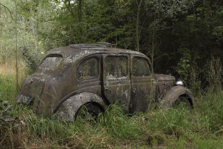 Abandoned Austin 8, South Canterbury NZ.