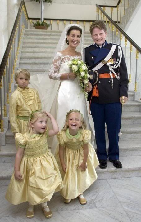 Prince Pieter-Christiaan of the Netherlands and Anita van Eijk